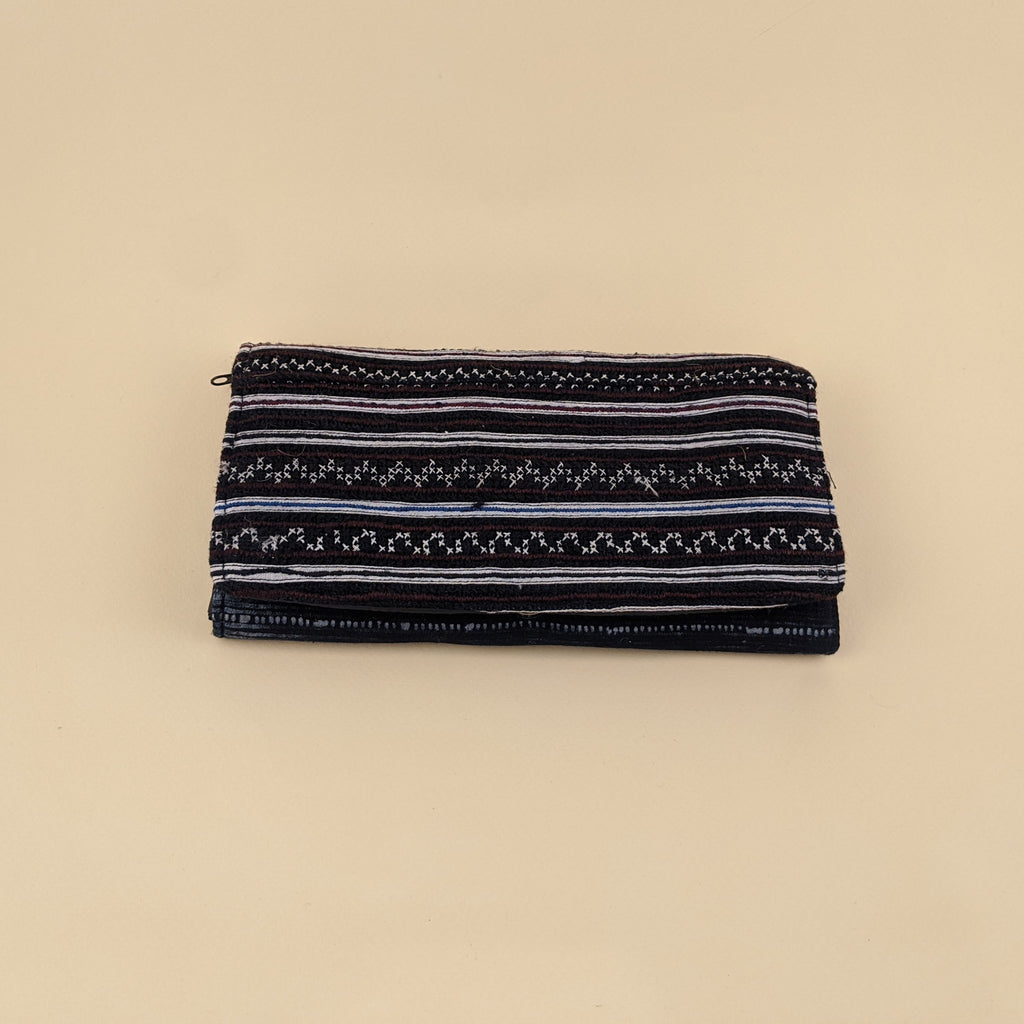 Recycled Hmong Fabric Clutch