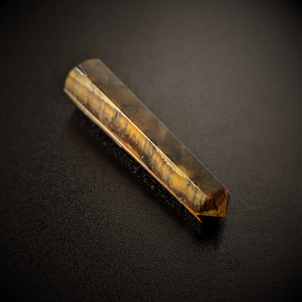 Small Tiger Eye Wand