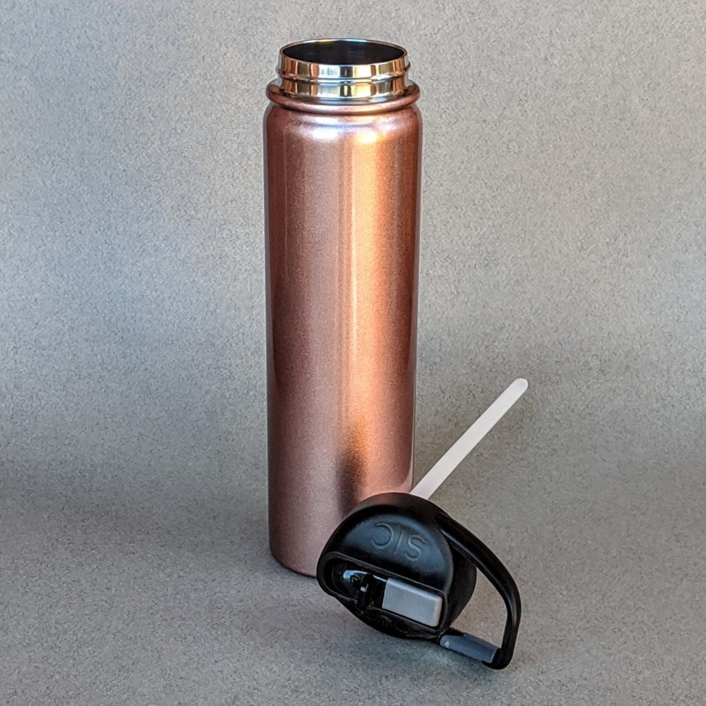 Large 27 oz Rose Gold Tumbler