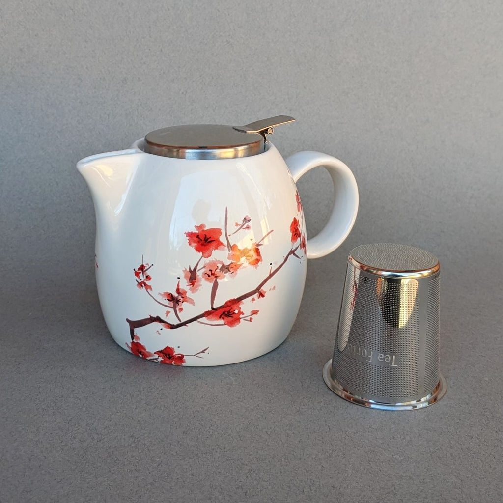 Cherry Blossom Teapot with Infuser