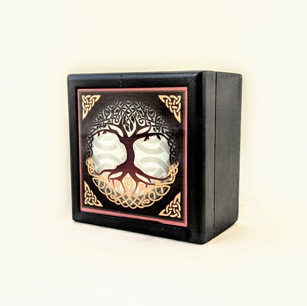Tree of Life Jewelry Wood Box