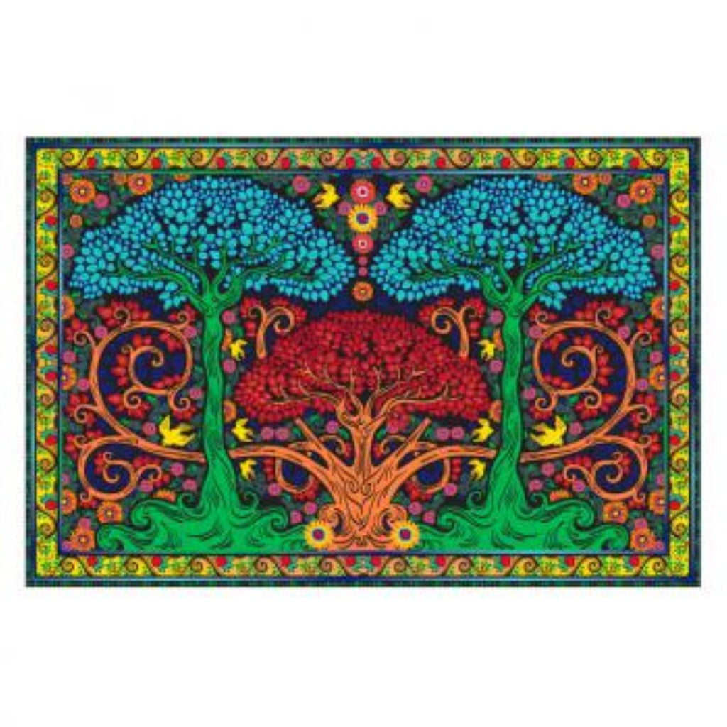 3-D Three Trees Tapestry