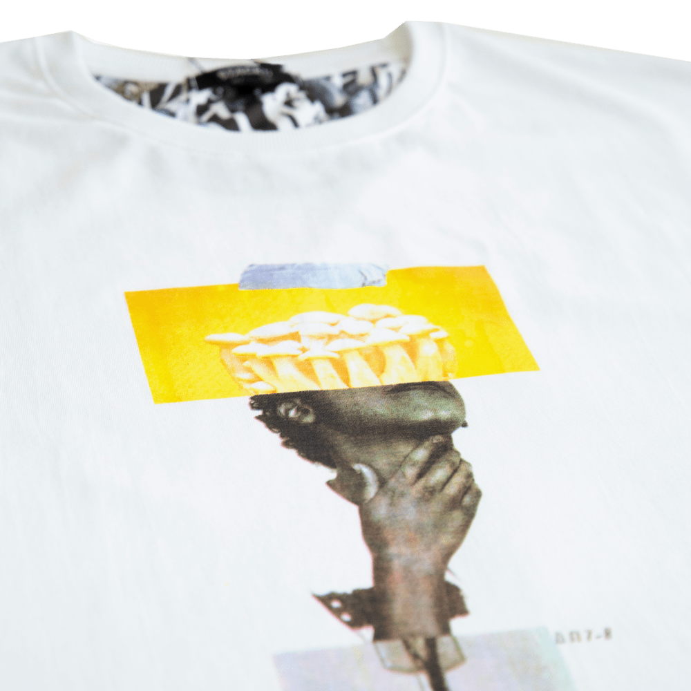 'Collage effect' T-shirt - Stacks Official