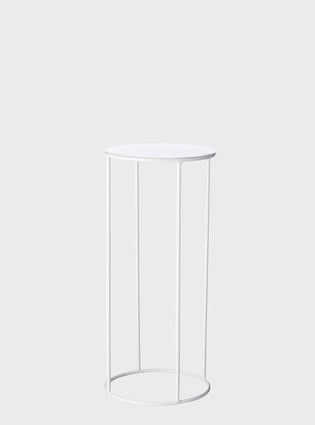 Lotus Pot Stand Medium White