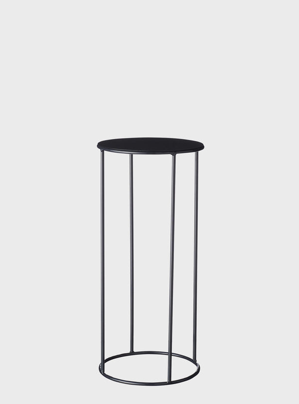 Lotus Pot Stand Medium Black
