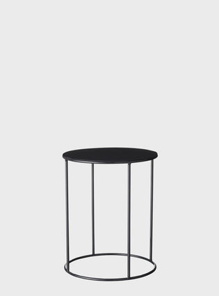Lotus Pot Stand Short Black