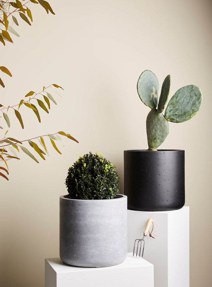 Jimmy Planter Small Light Grey