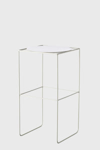Alto Pot Stand Tall White