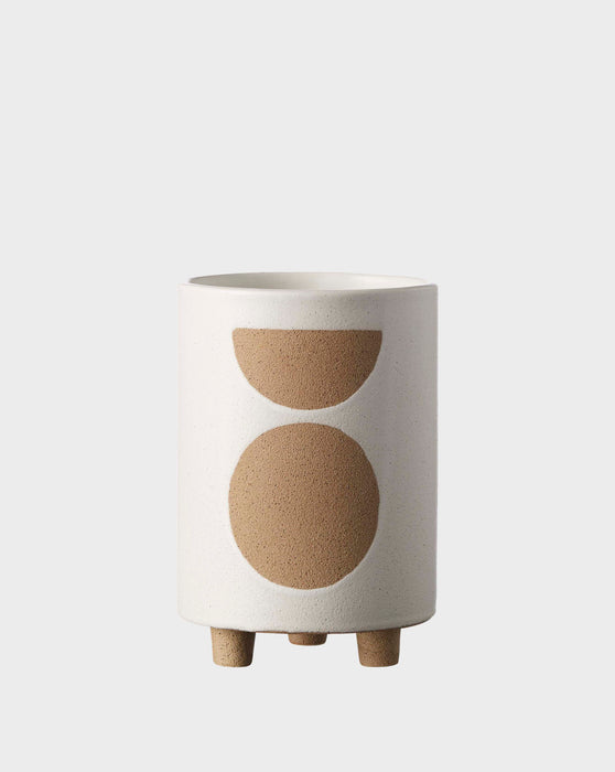 Birch Pot Tall Chalk