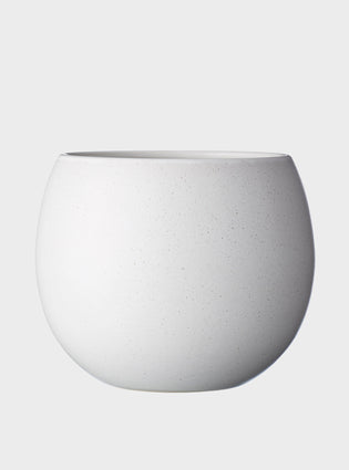 Bower Pot Large Soft White