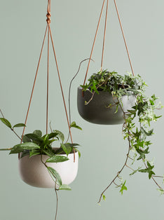 Cade Hanging Pot Small Ash