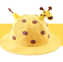 Load image into Gallery viewer, Kids giraffe hat with shield