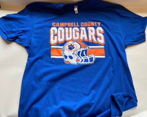 Cougar Football Next Level Cotton Crew USA Made