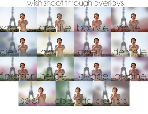 Wish Shoot Through Overlays