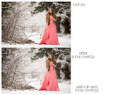 Wish Rain and Snow Overlays