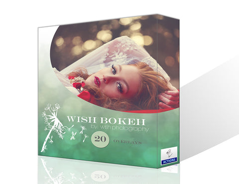 Wish Bokeh Overlays