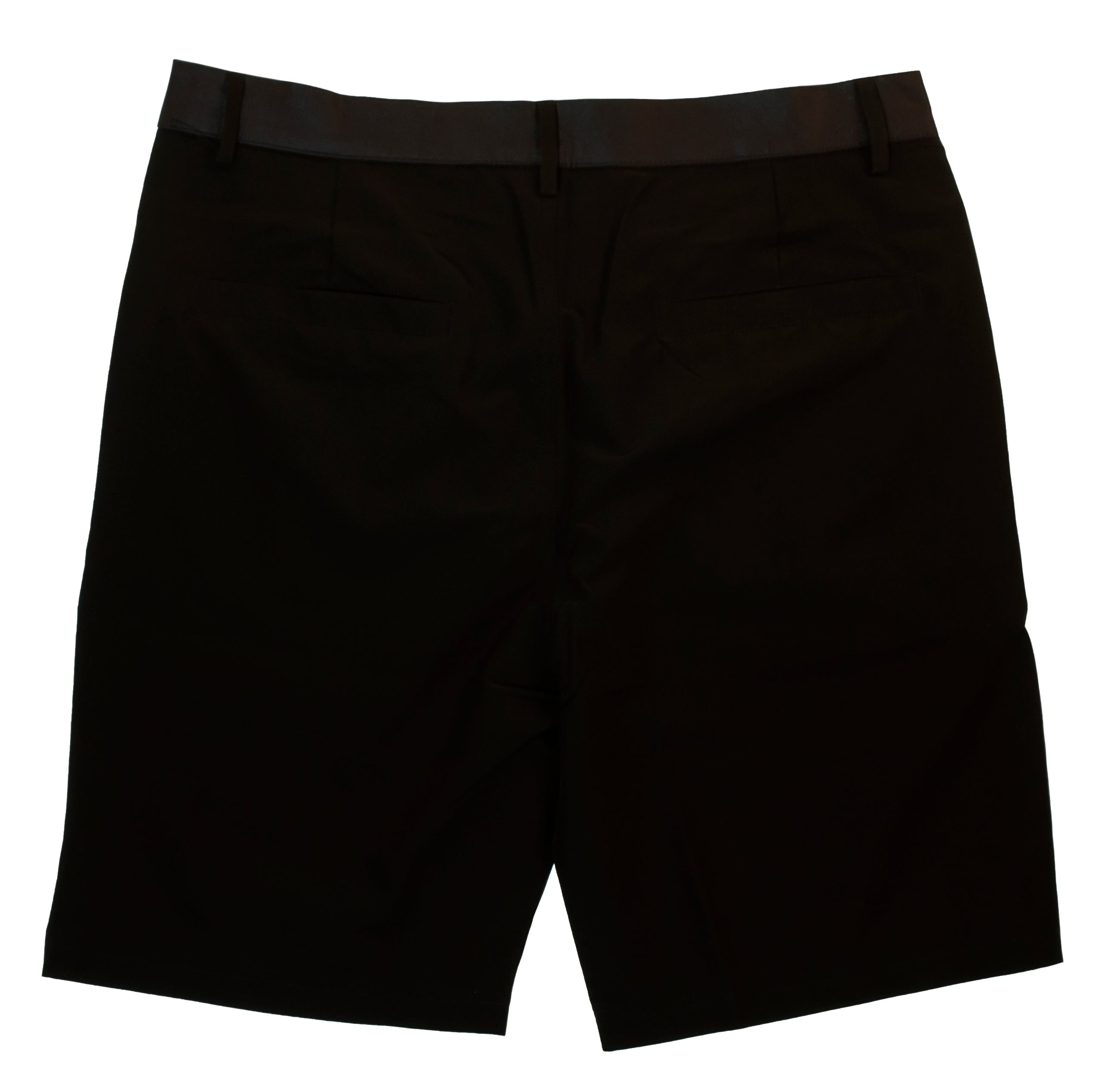 Pleated Black Abyss Boardshorts