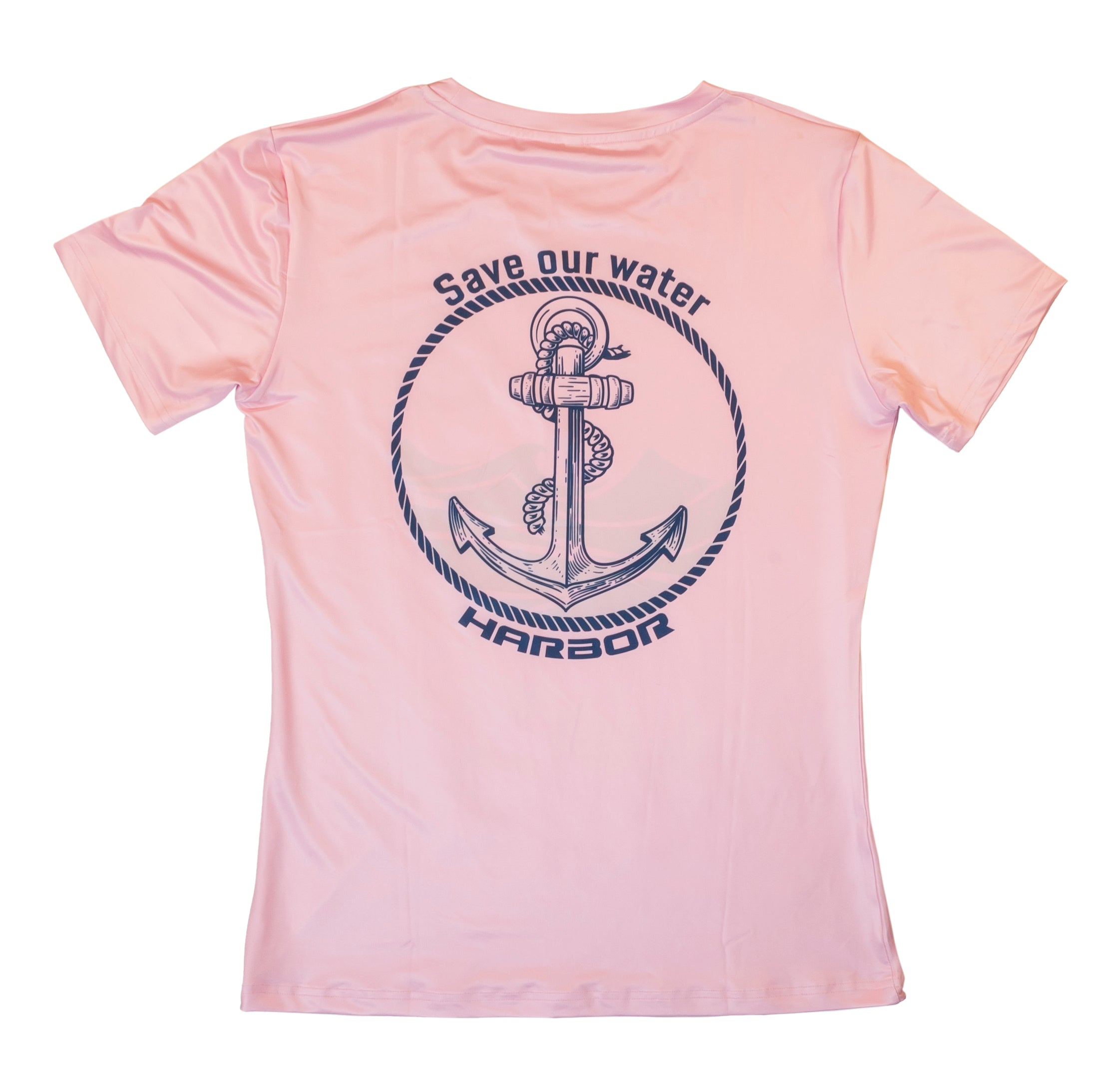 Save Our Water T-Shirt With Anchor Logo