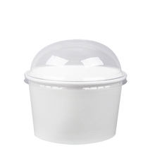Load image into Gallery viewer, CCF 20OZ(D127MM) Yogurt Paper Cup (Hot/Cold Use) - White 600 Pieces/Case