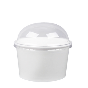 CCF 20OZ(D127MM) Yogurt Paper Cup (Hot/Cold Use) - White 600 Pieces/Case
