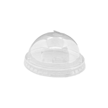 Load image into Gallery viewer, 16-24OZ(D90MM) Premium PET Plastic Dome Lid For PP Injection Cup - Clear 1000 Pieces/Case