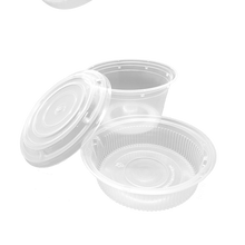 Load image into Gallery viewer, CCF 32OZ(D139MM) Premium PP Injection Plastic Soup Bowl with Insert & Lid - 50 Sets/Cases (Microwavable)
