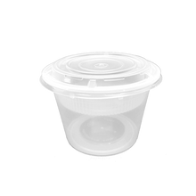Load image into Gallery viewer, CCF 48OZ(D175MM) Premium PP Injection Plastic Soup Bowl with Insert & Lid - 50 Sets/Cases (Microwavable)