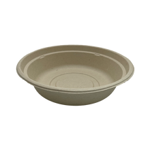 Load image into Gallery viewer, CCF 96MM Non-Vented Kraft Paper Lid for 6/8/10/12/16oz Ice Cream Pint Cup   - 250 Pieces/Case