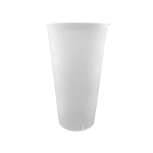 Load image into Gallery viewer, CCF 16OZ(D90MM) Premium PP Injection Plastic Cup - Frosted 500 Pieces/Case