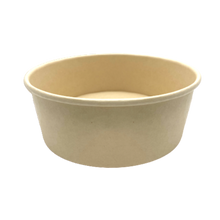 Load image into Gallery viewer, CCF 44OZ(D185MM) 100% Bamboo Fiber Food Bucket/Soup Container (Hot/Cold Use) - 300 Pieces/Case