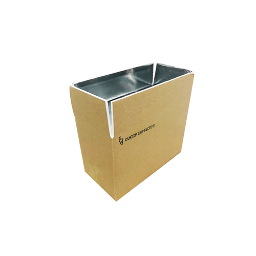 CCF Foldable Cold Chain Insulation Kraft Box #2 (L305MM*W255MM*H178MM) - 10 Pieces/Bulk - $42,50