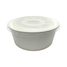 Load image into Gallery viewer, CCF 30OZ(D165MM) PP Plastic Flat Lid For Food Bucket - 600 Pieces/Case
