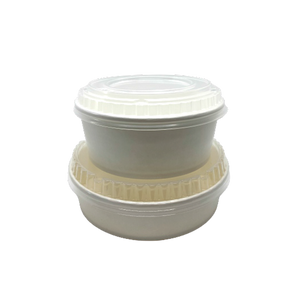 CCF 30OZ(D165MM) PP Plastic Dome Lid For Food Bucket - 600 Pieces/Case