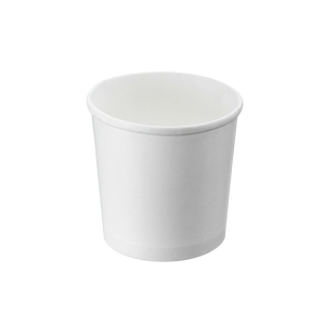 CCF 16OZ(D96MM) Ice Cream Paper Cup - White 1000 Pieces/Case