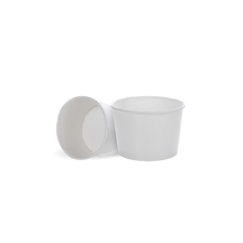 Load image into Gallery viewer, CCF 4OZ(D75MM) Ice Cream Paper Cup - White 1000 Pieces/Case
