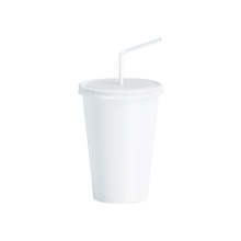 Load image into Gallery viewer, CCF 16OZ Paper Soda Cup - White 1000 Pieces/Case