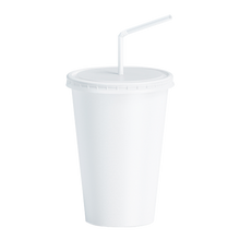 Load image into Gallery viewer, CCF 32OZ Paper Soda Cup - White 600 Pieces/Case