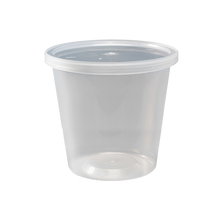 Load image into Gallery viewer, CCF 32OZ(D117) PET Plastic Deli Container - 500 Pieces/Case