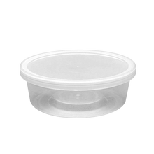 Load image into Gallery viewer, CCF 8OZ(D116MM) PP Plastic Deli Container - 500 Pieces/Case (Microwavable)