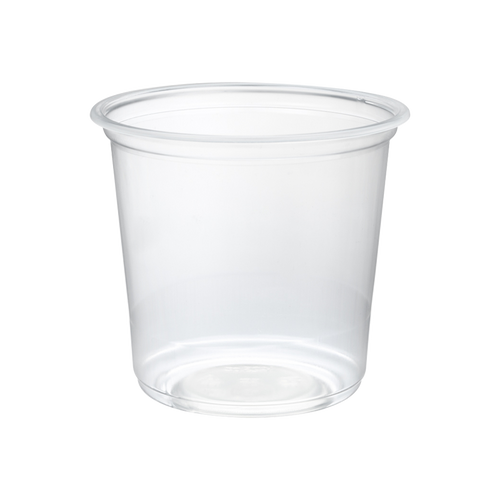 CCF 25OZ PP Plastic Wide Drink Cup - 500 Pieces/Case