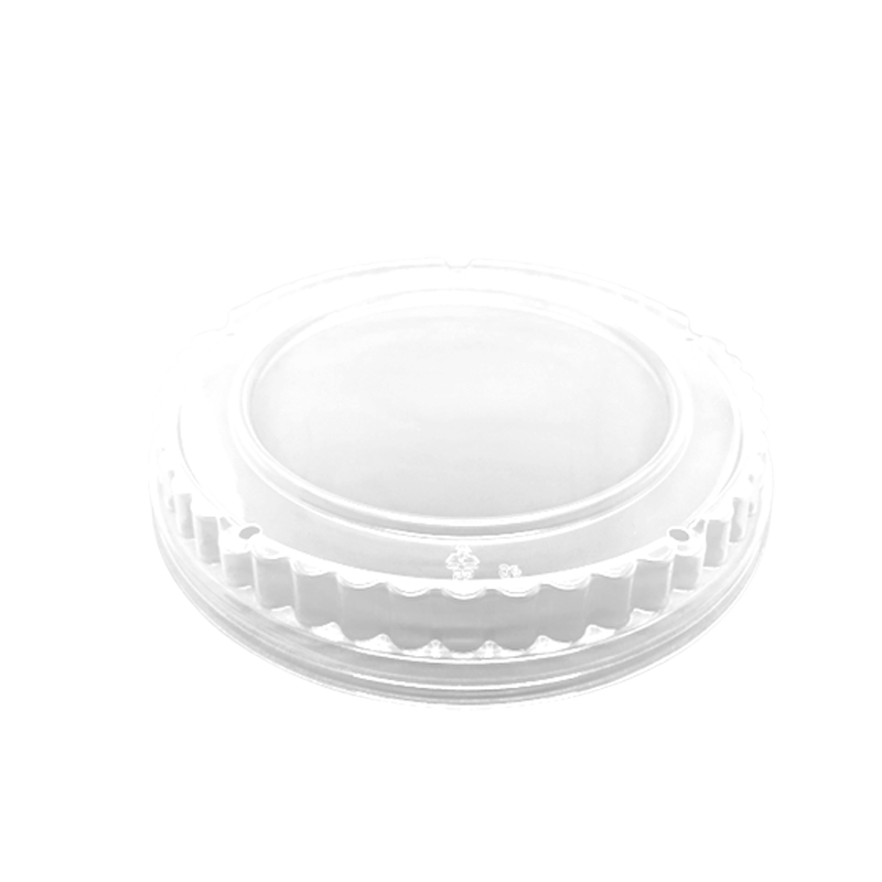 CCF 32OZ(D188MM) PP Plastic Dome Lid For Food Bucket - 300 Pieces/Case