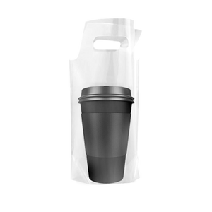 CCF Single Drink Cup Carrier Plastic Bag -1000 Pieces/Case (Made in USA )