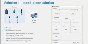 Face Recognition Access Controller - Univew Solution