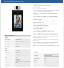 Load image into Gallery viewer, Face Recognition Access Controller - Diamond Solution