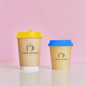 Custom Print Double Air Wall Paper Coffee Cups