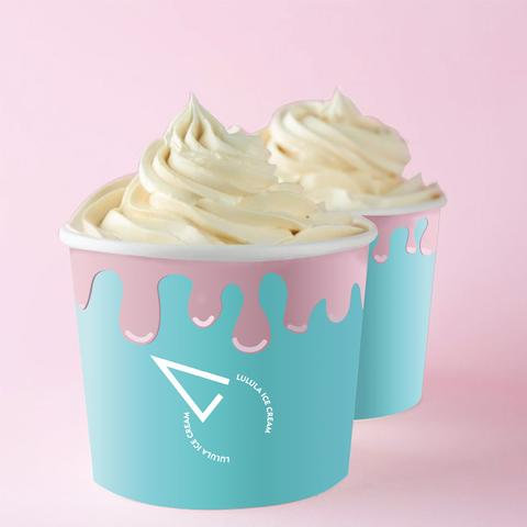 Custom Print Paper Yogurt Cups