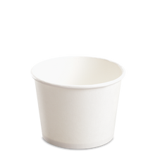 Load image into Gallery viewer, CCF 12OZ(D102MM) Yogurt Paper Cup (Hot/Cold Use) - White 1000 Pieces/Case