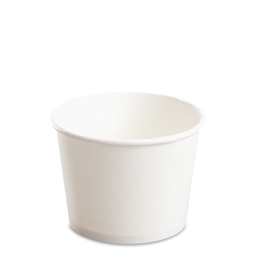 CCF 12OZ(D102MM) Paper Food Bucket (Hot/Cold Use) - White 1000 Pieces/Case