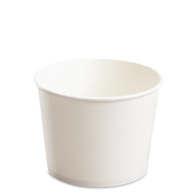 Load image into Gallery viewer, CCF 16OZ(D112MM) Yogurt Paper Cup (Hot/Cold Use) - White 1000 Pieces/Case