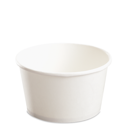 CCF 24OZ(D142MM) Paper Food Bucket (Hot/Cold Use) - White 600 Pieces/Case